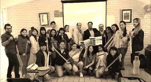 YKK Mexicana S.A. de C.V. team facilitates workshops for fashion students in Mexico