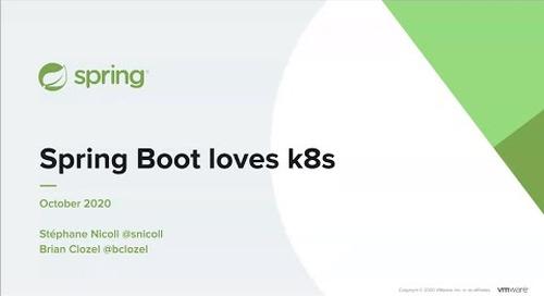 Mise en oeuvre de microservices dans un environnement Kubernetes avec Spring Boot