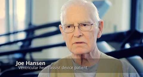 Ventricular assist device therapy, V.A.D.