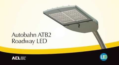 Autobahn ATB2 LED Roadway & Security Luminaire