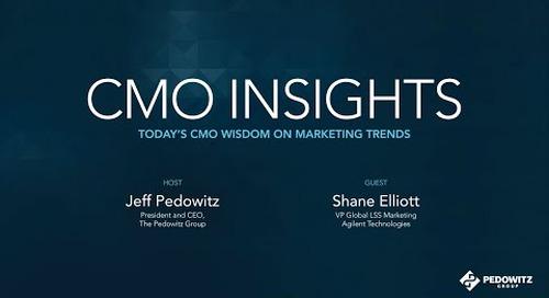CMO Insights: Shane Elliott, VP Global Laboratory Solutions Sales (LSS)