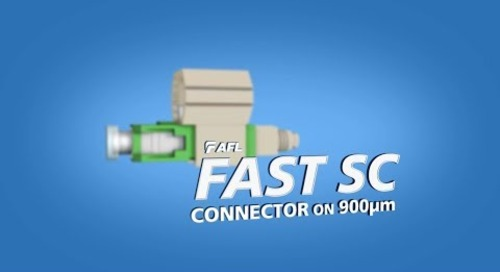 Termination Instructions for FASTConnect® SC Connector on 900um - Green