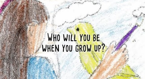 "Just Imagine asks kids: ""Who will you be when you grow up?"""