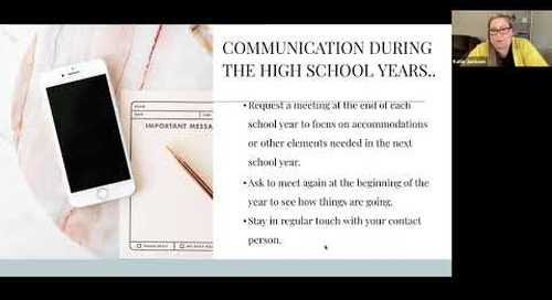 Individualized Education Plan for High School | Swindells Resource Center