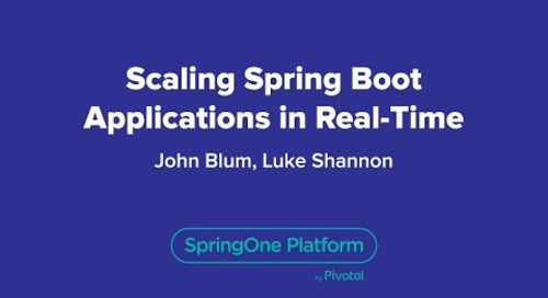Scaling Spring Boot Applications in Real-Time