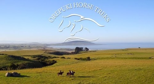 Welcome to Orepuki Horse Treks