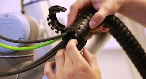 triflex® R clips installation on UR robot