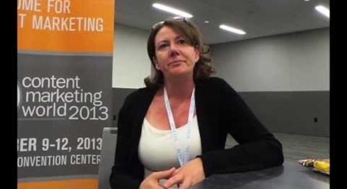 Marketing Smarts Special Edition: Kelly Hungerford of Paper.li at Content Marketing World 2013