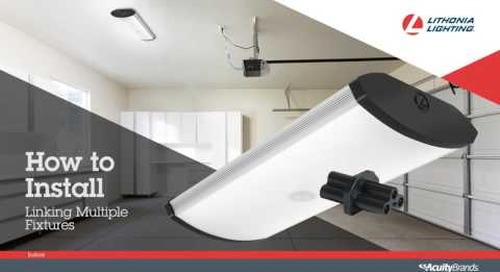 SGLL LED Garage Light Installation video from Lithonia Lighting