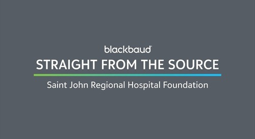 Straight from the Source: Saint John Regional Hospital Foundation