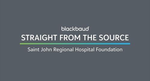 Straight from the Source: Saint John Regional Hospital Foundation