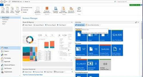 Setting Up Cues in Microsoft Dynamics NAV 2017