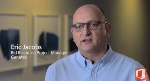 Office 365 centralized deployment enables Qorus solutions at Genetec