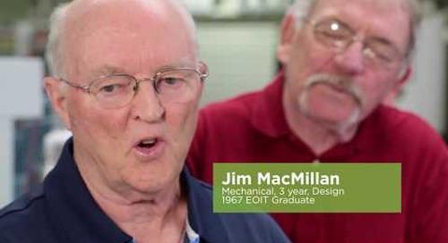 Herb Dean, Bill Jamieson, Jim MacMillan- 50 years of Algonquin College stories