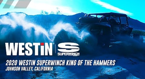 2020 Westin Superwinch King of the Hammers