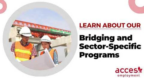 Bridging and Sector-Specific Programs at ACCES
