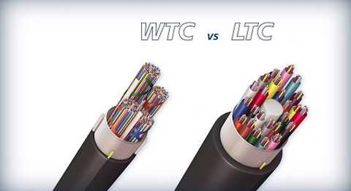 Wrapping Tube Cable with SpiderWeb Ribbon® benefits over standard loose tube fiber optic cable
