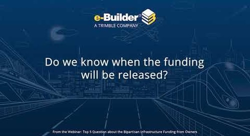 Q2: Top 5 Questions Answered About the Bipartisan Infrastructure Bill