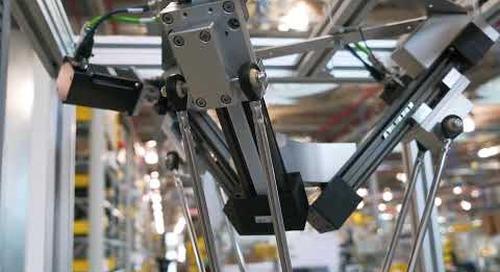 igus® delta picker robot in action