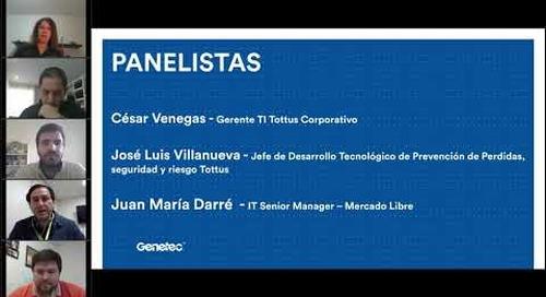 Panel de discusión con Mercado Libre y Supermercados Tottus