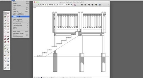 [Skill Builder] Printing to Scale with SketchUp Make