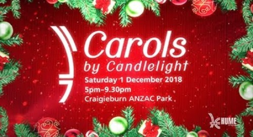 Hume City Council presents Carols by Candlelight 2018