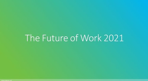 The Future of Work 2021