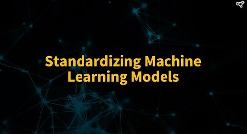 Standardizing Machine Learning Models