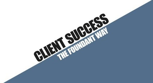 Client Success The Foundant Way