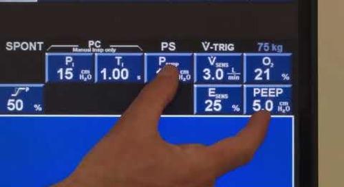 Puritan Bennett 840 Ventilator - Pressure Support