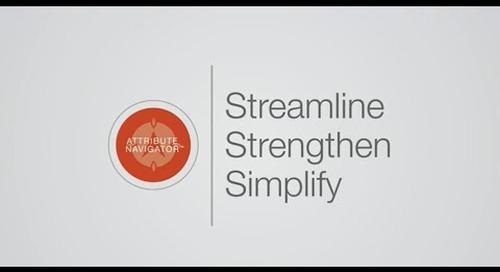 Attribute Navigator Walkthrough Video