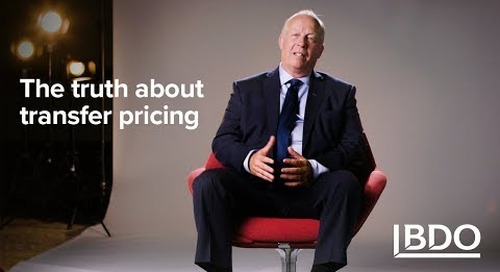 The Truth About Transfer Pricing | BDO Canada