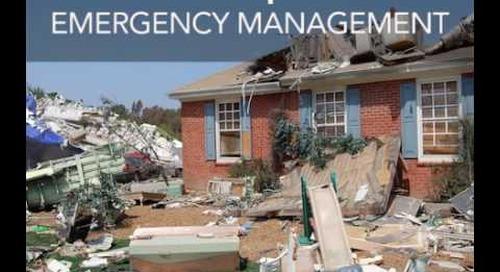 Emergency Management Graduate Certificate Program