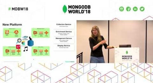 Replatforming: Switching to MongoDB for Flexibility, Scalability & Performance