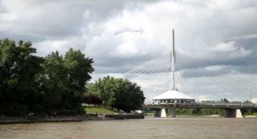 Provencher Bridge - Winnipeg, Manitoba