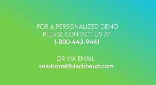 Blackbaud Grantmaking  ||  Applicant Experience