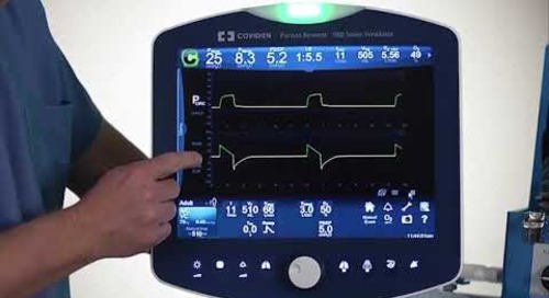 Puritan Bennett 980 Ventilator - Graphics and Screen Capture