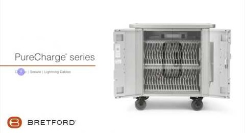 Bretford | PureCharge® series - iPad and iPad mini Apple device charging cart