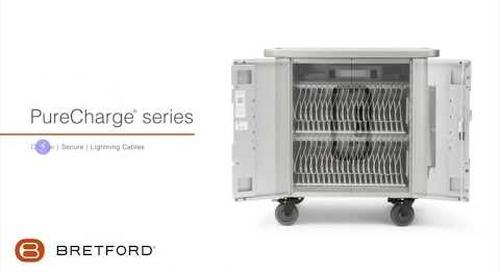 Bretford | PureCharge® series - iPad and iPad mini Apple device charging cart