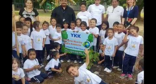 YKK North and Central America Group celebrates the environment