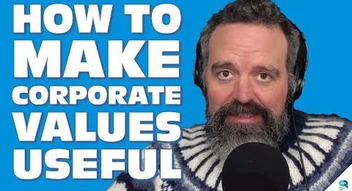 Tanzu Talk: Use corporate values as principals