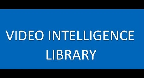 Video Intelligence Library