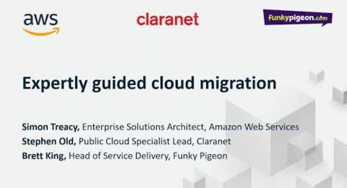 Webinar: How Claranet saved Funky Pigeon 40% on AWS