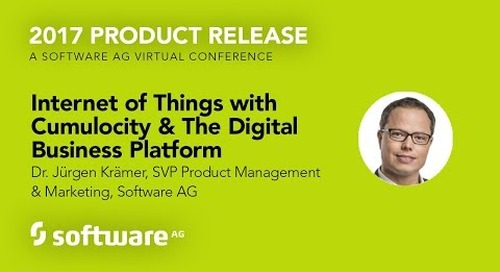 Internet of Things with Cumulocity & The Digital Business Platform