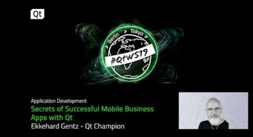 Secrets of Successful Mobile Business  Apps with Qt