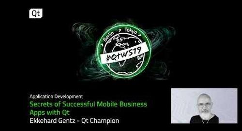 Secrets of Successful Mobile Business  Apps with Qt   Ekkehard Gentz   Qt Champion