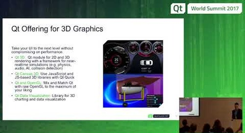 QtWS17 - Technical Overview of Qt in Medical devices, Ionut Alexandrescu, The Qt Company