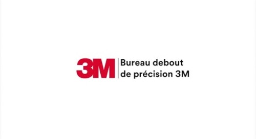 Surface de travail en position debout SD60B Precision 3M(MC)