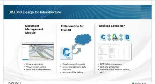 BIM 360 Design for Infrastructure  Collaboration for Civil