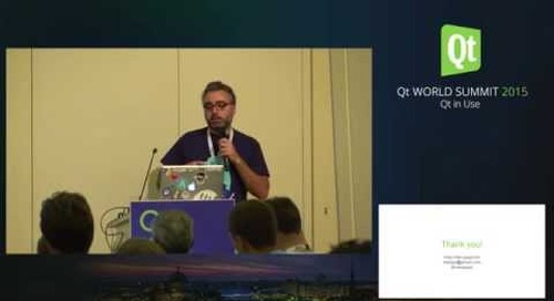 QtWS15- How we stopped using the mouse and started drawing molecules with..., Massimiliano Pippi